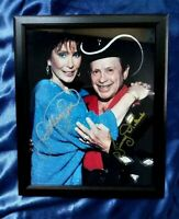 Loretta Lynn & Little JImmy Dickens HAND-SIGNED Opry Photo 8 X 10