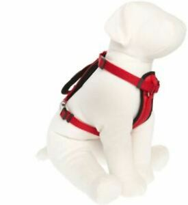 KONG Comfort Padded Harness For Dogs Small Red Girth 16.-22 in 40.6-55.9 cm