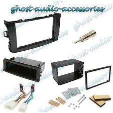 Toyota Auris Double DIN Facia Fascia Fitting Kit Cage Audio Stereo Adapter Plate