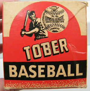 Vintage 1940's Tober Baseball Box only