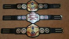 NWA United States Heavyweight Championship Belt Adult Size with WOODEN CASE.
