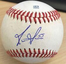 MATT MOORE Signed Auto Game Used OMiLB BASEBALL BALL Tampa Bay Rays