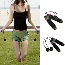 Wireless Indoor home Cordless Burning Calorie Jump Rope Skipping Fitness MO