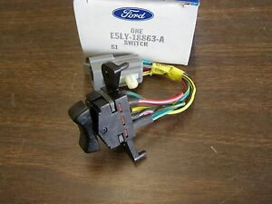 NOS OEM Ford 1985 - 1988 Lincoln Mark VII 7 Power Antenna Switch 1986 1987