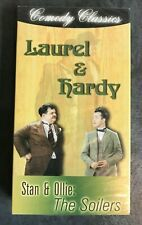 NEW VHS tape! - LAUREL AND HARDY STAN & OLLIE 'The Soilers'- 1999