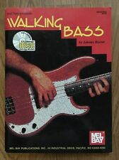 Walking Bass By Johnny Rector Teaching Material For Guitarists And Bassists W/Cd