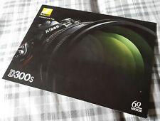 Nikon D300S Digital SLR Camera Sales Brochure 6CE90050 (1104/D)K