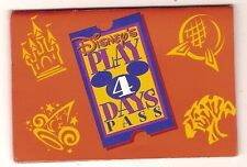 walt disney world ticket pass holder