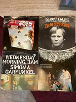 60's ROCK 4 vinyl LP lot- The Box Tops - Simon & Garfunkel - Steppenwolf MONSTER