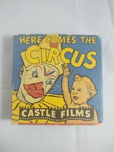 Vintage 16mm  Here Comes The Circus Castle Films Headline Edition 16mm