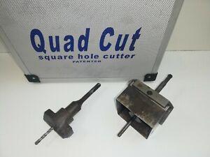 Quad Cut Single Square Hole Back Box Cutter electricians Plumbers Sockets Heat