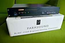 Parasound DAC 1500 Modified by PASS LABS D1