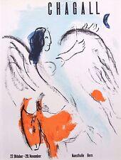 """Marc CHAGALL montato Mourlot litografia, 1959, affiches ORIGINALES 14 x 11"""" AO25"""