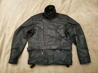 Modeka Roadwear XL Motorradjacke  Herren Lederjacke Retro Vintage Leather Jacket
