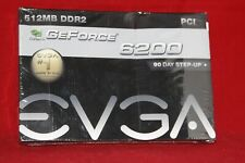 EVGA Nvidia GeForce 6200 512 MB DDR2, PCI Graphics Card (512-P1-N402-LR)