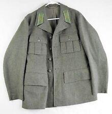 RARE Swedish Home Guard Military Uniform Jacket 1945 Wool Three Crowns Sm Mens