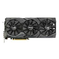 Asus ROG GeForce GTX 1070 Strix Gaming Graphics Card, 8GB GDDR5, DVI-D, HDMI, DP