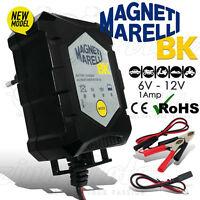MANTENITORE DI CARICA BATTERIA MAGNETI MARELLI 1 Amp MOTO SCOOTER MANTENIMENTO