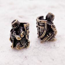 CooB UNIQUE Bronze Bead Beads Charm for Paracord Knife Lanyard Bracelet TEMPLAR