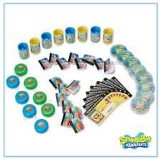Spongebob Birthday Party Mega Mix Favours Pack of 48 Sponge Bob Boys Loot Toys