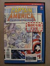 Captain America Sentinel of Liberty #1 Rough Cut Marvel 1998 Series 9.6 NM+