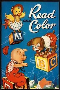 "UNCOLORED ""Read and Color"" #3454 Merrill 1939 (2700)"