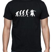 EVOLUTION OF BALLROOM TSHIRT T SHIRT XL XXL XXXL DANCE STRICTLY FIGURINE TOP NEW