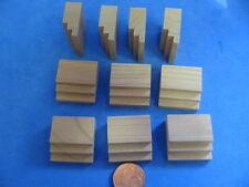 N. 749 pezzo di ricambio livello 1:10 legno di ciliegio bambole Tube casa delle bambole casa delle bambole mobili