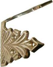 Fancy CAST BRASS Camelback Trunk Corner - Brass  B4472