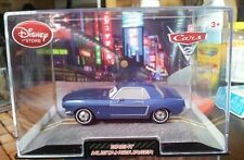 NEW Cars 2 Brent Mustangburger-Die cast car in clear case