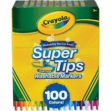 Crayola 585100 Super Tips Washable Markers 100 Count