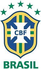 Finestra in Vinile Adesivo 13x8cm Calcio in Brasile World Cup Brasil Russia Auto