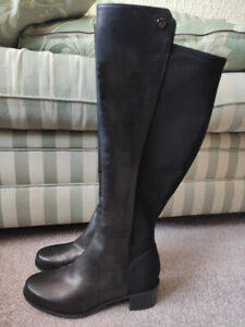 MARC FISHER IRISY SUEDE KNEE HIGH BOOTS SIZE UK 3