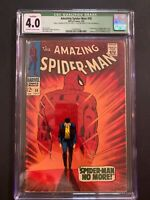 Amazing Spiderman 🔥 #50 CGC 4.0 (OW/W Pages) 1st Appearance  🗝 Kingpin!