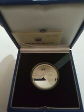 Malaysia 2010 125th Anniversary Of KTM Malaysia Silver Proof Coin (Nice No. 151)