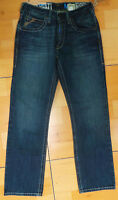 Ariat Men's Relaxed Fit Low Rise M2 RELAXED  BOOT CUT  Jeans  29/32  FREE SHIP