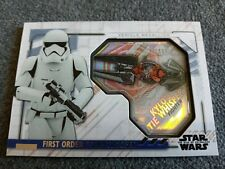 2020 TOPPS STAR WARS THE RISE OF SKYWALKER SERIES 2,FIRST ORDER VEHICLE#MVM-STK