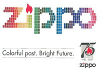 "Zippo Post Card ""75 Years"""