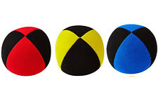 3 X  Henrys Jonglierball Bean Bag Superior 62 mm ROT GELB  BLAU - SCHWARZ