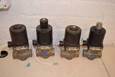 Lot of 4 Magnatrol 110 PSI 3/4 Air Valves 2x 14K43A 2x 14KR43A
