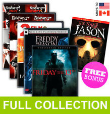 Friday the 13th Complete Collection, Jason X, Goes to Hell, Nightmare BONUS DVD