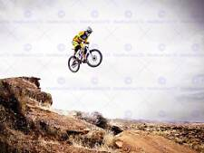 Lo SPORT MOUNTAIN BIKE JUMP CIELO Big Air Grande Poster Art Print bb3266a