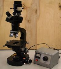 wild Heerburgg Trinocular microscope with objectives and power supply
