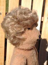 "Vintage Dolls Wig Short Blonde Curly Sz 13"" Good Condition"