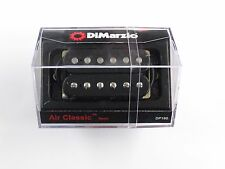 DiMarzio Regular Spaced Air Classic Neck Black W/Chrome Poles DP 190