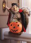 Squirrel Trick Or Treating Avanti Funny Halloween Card photo