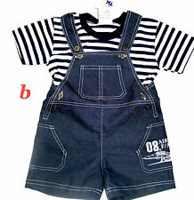 Unbranded Cotton Blend Outfits & Sets (0-24 Months) for Boys