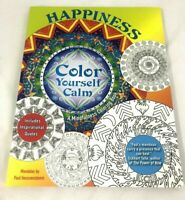 HAPPINESS Color Yourself Calm A Mindfulness Coloring Book