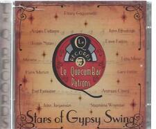 2 CD album - STARS OF GYPSY SWING - LE QUECUMBAR PATRONS   / GIPSY GUITAR JAZZ