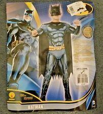 Child Boys Batman Costume Rubies DC Comics Deluxe Muscle-Chest Child Large 10-12